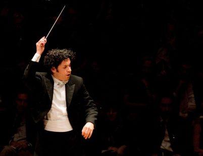 Gustavo Dudamel 2 credit Vern Evans_LA Phil crop