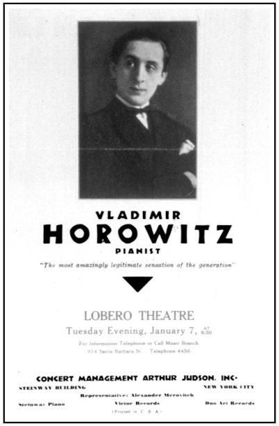 vladimar horowitz