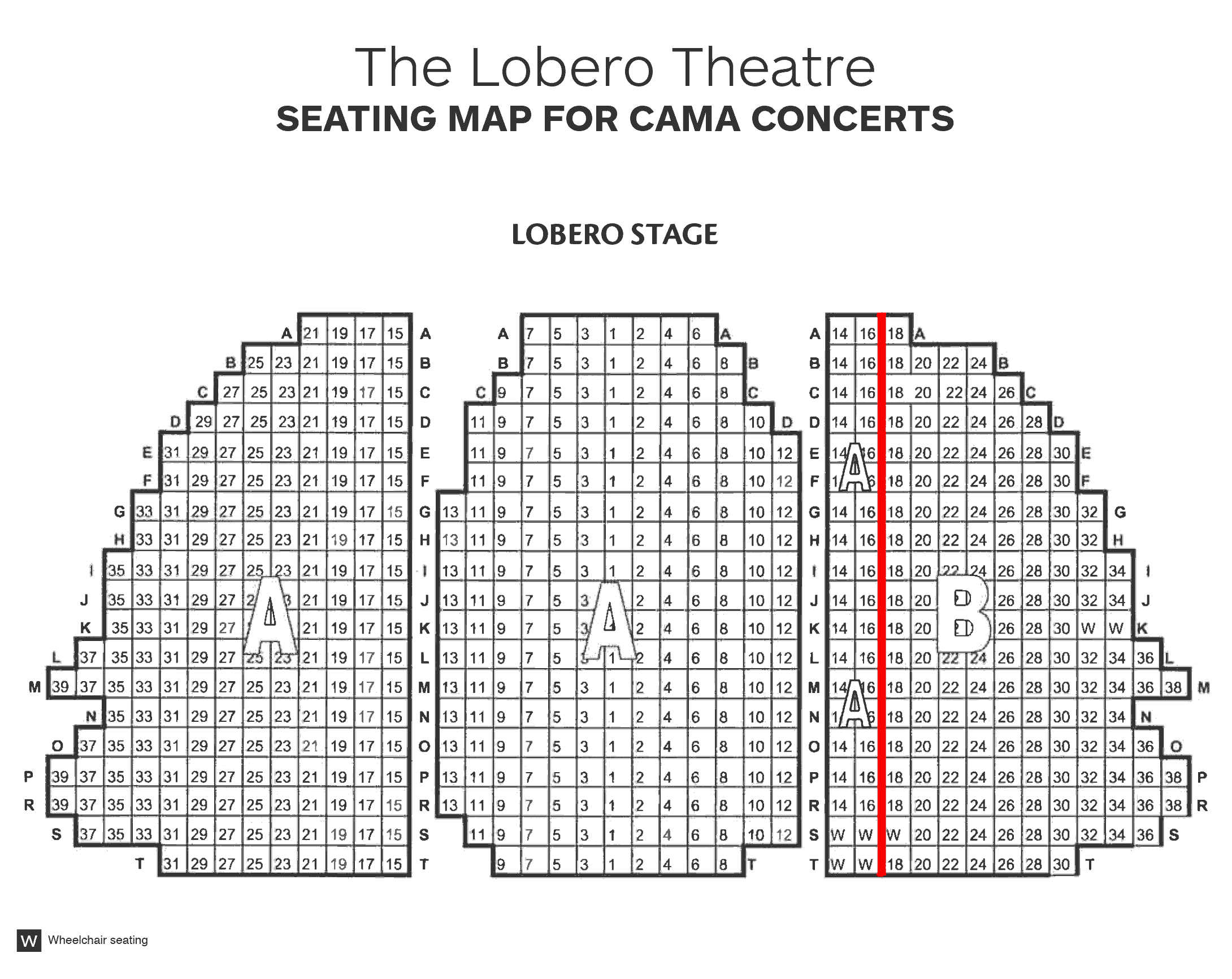 Lobero Detailed Map