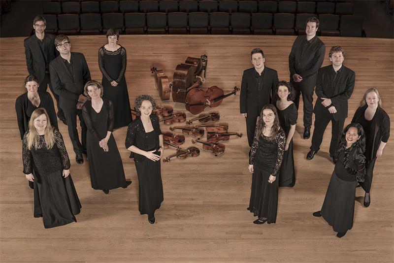 les violons du roy group photo